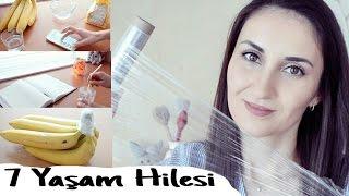 Streç Film İle 7 Yaşam Hilesi | 7 Food Wrapping Film Life Hacks