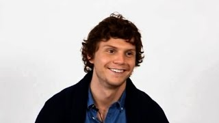 Funny/Cute Moments of Evan Peters 2016