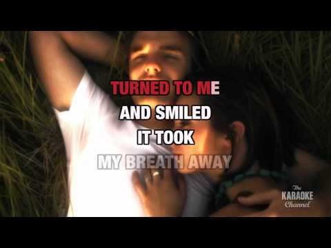 """The Lady In Red in the style of """"Chris DeBurgh"""" karaoke video with lyrics (no lead vocal)"""