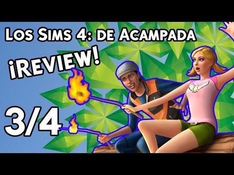 Review 3 4 Los Sims 4 de Acampada Modo construir y Comprar