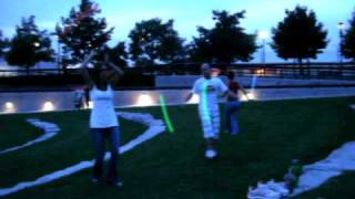 Poi Dancing at White River State Park