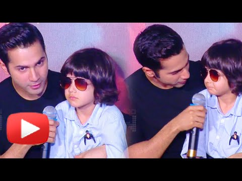Xxx Mp4 Meet Varun Dhawan 39 S Son Badlapur Trailer Launch 3gp Sex
