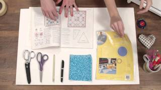 Quilty: How to make your own quilt templates