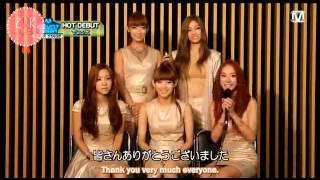 [2XRSUBS] Two X Hot Debut @ Mnet (ENG SUBS)
