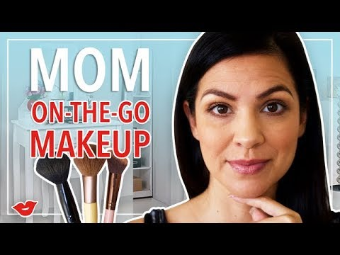Xxx Mp4 Fast And Easy Mom Makeup On The Go Kimberly From Millennial Moms 3gp Sex