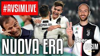 La nuova era della Juventus senza Allegri ||| #AvsimLive