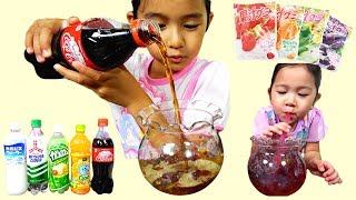 子供と楽しく手作りおやつ☆グミでゼリー飲料を作る♡himawari-CH
