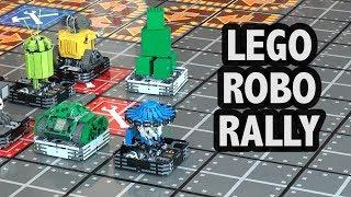 LEGO Super Robo Rally Game at Gen Con 2017