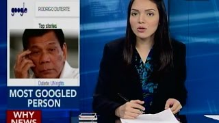 Pres. Duterte, Most Googled Person in the Philippines —  Time Magazine