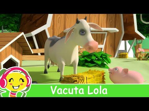 Vacuta Lola Cantece pentru copii cu animale
