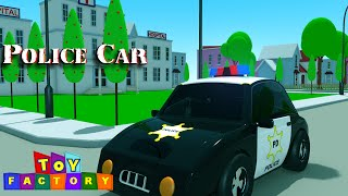 police cars for children - sergeant cooper the police car - police car cartoons for children