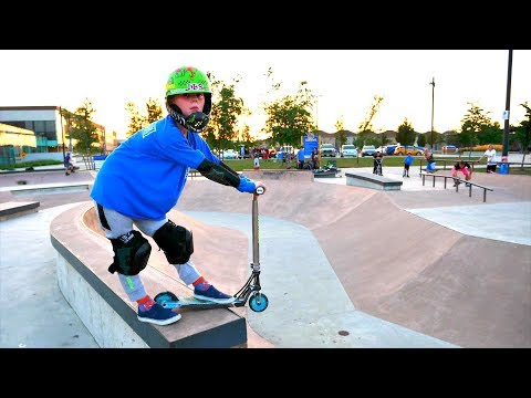 INSANE 8 YEAR OLD SCOOTER TRICKS!!!
