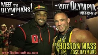 JOSE RAYMOND | Ep. 3 MEET THE OLYMPIANS EVENT - 2017 OLYMPIA WEEKEND!