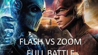 The Flash Season 2 Episode 23 Finale - The Flash vs Zoom: Full battle