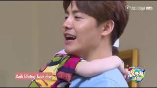 [Vietsub] Hãy để tôi đi baby Ep7 cut: Tiểu Mã Tiểu Đồng khắc khẩu về Jackson
