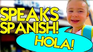 SPANISH FOR KIDS - Learning Foreign Language - Life in Louisiana - [Broussard, LA]