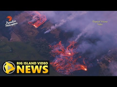 Hawaii Volcano Eruption Update Friday Afternoon May 18 2018