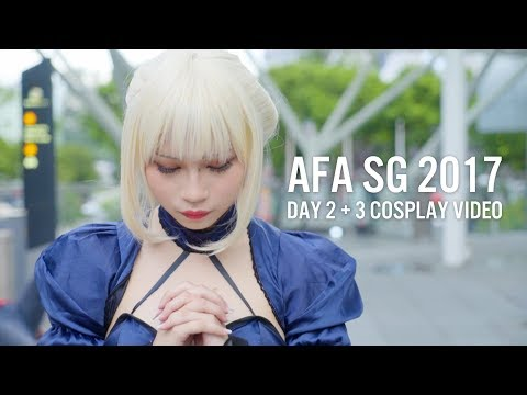 Xxx Mp4 AFA SG 2017 Day 2 Amp 3 Cosplay Video 3gp Sex