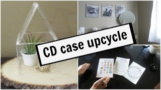 Upcycle CD & DVD cases!
