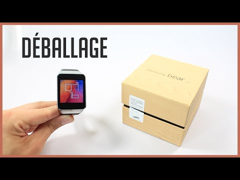 Déballage du Samsung Gear Live (Unboxing), une montre connectée sous Android Wear