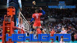 Earvin Ngapeth   World League 2016 Highlights   French MONSTER Outside Hitter