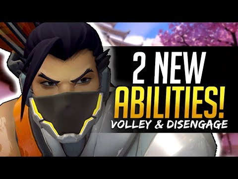 Xxx Mp4 Overwatch HANZO 2 NEW ABILITIES Volley And Disengage 3gp Sex