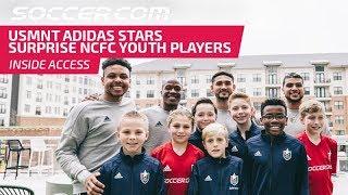 USMNT adidas stars surprise NCFC Youth