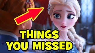 OLAF'S FROZEN ADVENTURE Trailer EASTER EGGS, Breakdown & Things You Missed