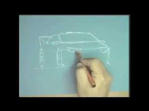 Tutorial desenho de carros Rally 1 designer Bira