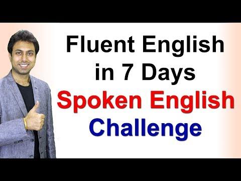 Xxx Mp4 How To Speak Fluent English In 7 Days Speaking Fluently Awal 3gp Sex