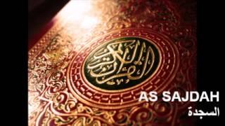 Surat As Sajdah (The Prostration - La Prosternation - السجدة) / Abdelbasset Abdessamad