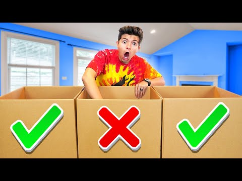 Don t Choose the Wrong MYSTERY Box with My Little Brother