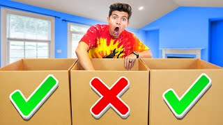 Don't Choose the Wrong MYSTERY Box with My Little Brother!