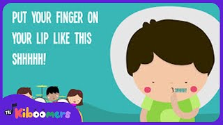 Quiet Please   Kids Song   Lyrics   Nursery Rhymes   Preschool Songs  