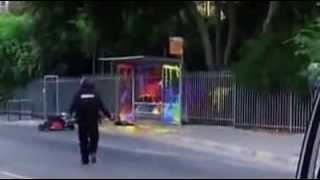 Đặt bom khủng bố giả để troll cảnh sát