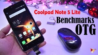 Coolpad Note 5 Lite Benchmarks & OTG | Data Dock
