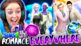 🌍🌕ROMANCE ON EARTH... AND BEYOND?!🌍🌕 (The Sims 4 IN THE CITY #43!💒)