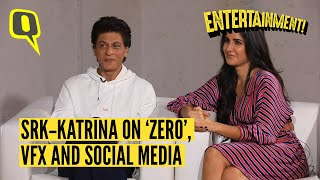 SRK and Katrina Get  Candid About