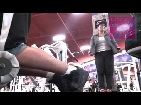 How to Reaction Cute Girl in GYM Very Enjoying