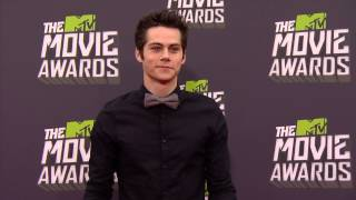 MTV Movie Awards 2013 - Dylan O'Brien and Tyler Posey walk the red carpet