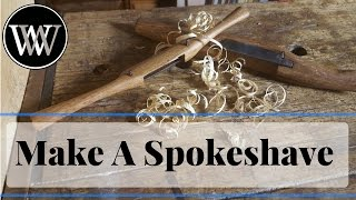 How to Make a Spokeshave - How-to Woodworking Hand Tool From Oak