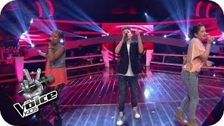 Naughty Boy feat. Emeli Sande - Lifted (Naomi, Selma, Lukas) | The Voice Kids 2014 | BATTLE | SAT.1