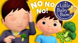 No No No! Vegetables | Nursery Rhymes and Kids | Original Song By LBB!
