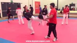 Türkiye Taekwondo Milli Takım Antremanı - Meksika