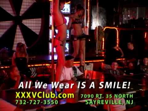 XXXV CLUB Gentlemen's Club Route 35 Sayreville NJ TV ad