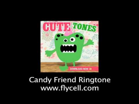 """Cute Ringtones - """"Candy Friend"""" for your cell phone"""