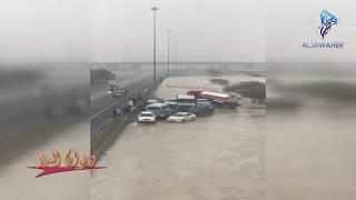 مالم تراه من قبل في شوارع الكويت | أمطار الكويت