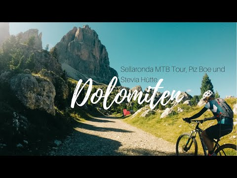 DOLOMITES - Bike and Hike / Sellaronda MTB (HD)