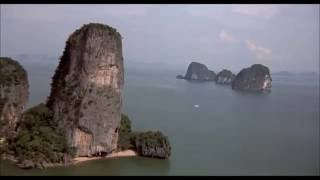 James Bond Island in Thailand - The Man With The Golden Gun