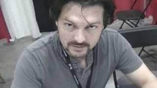 David Hayter aka solid snake Watches The Watchmen